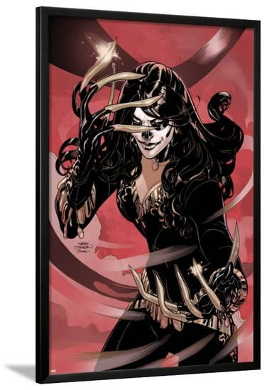 X-Men #7 Cover: Lady Deathstrike-Terry Dodson-Lamina Framed Poster