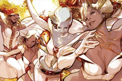 X-Men Evolutions No.1: Emma Frost-Greg Tocchini-Art Print