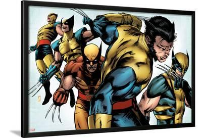 X-Men Evolutions No.1: Wolverine-Patrick Zircher-Lamina Framed Poster