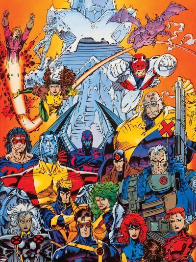 X-Men Forever Alpha No. 1: Cyclops, Storm, Grey, Jean, Summers, Rachel, Havok, Polaris, Cable--Art Print