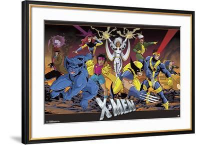 X-Men - Group--Framed Poster