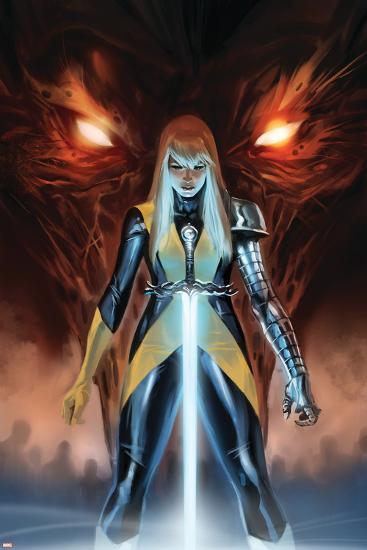 X-Men: Hellbound No. 1: Magik--Art Print