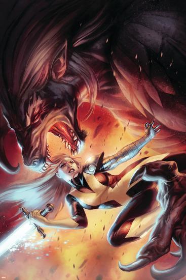 X-Men: Hellbound No. 3: Magik--Art Print