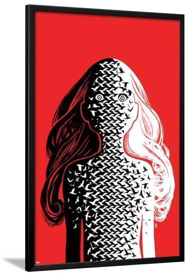 X-Men Legacy #3 Cover-Mike Del Mundo-Lamina Framed Poster