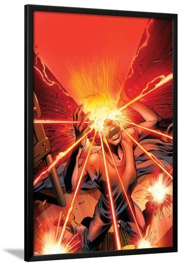 X-Men: Legacy No.214 Cover: Cyclops-Alan Davis-Lamina Framed Poster
