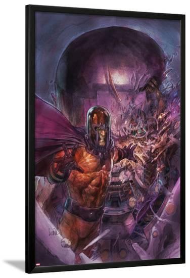X-Men Legacy No.239 Cover: Magneto-Leinil Francis Yu-Lamina Framed Poster