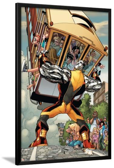 X-Men: Manifest Destiny No.3 Cover: Colossus-Humberto Ramos-Lamina Framed Poster