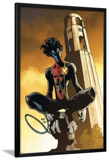 X-Men: Manifest Destiny No.4 Cover: Nightcrawler-Humberto Ramos-Lamina Framed Poster