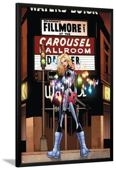 X-Men: Manifest Destiny No.5 Cover: Dazzler-Humberto Ramos-Lamina Framed Poster