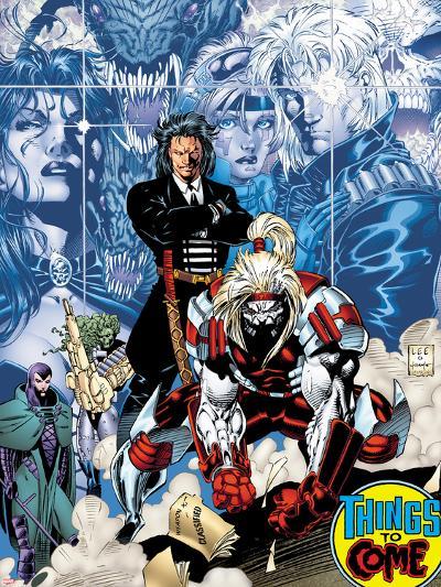 X-Men No.1: 20th Anniversary Edition: Omega Red-Jim Lee-Art Print