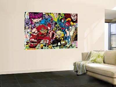 X-Men No.1 Pin-up Group: A Villains Gallery-Jim Lee-Wall Mural