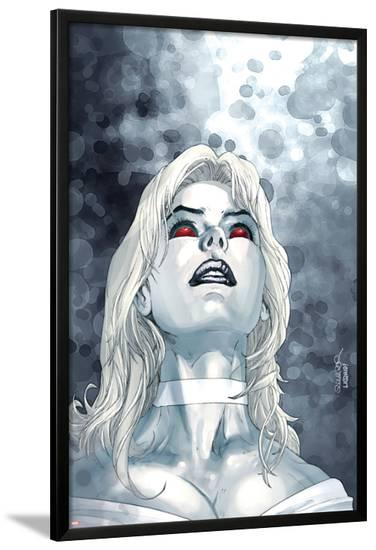 X-Men No.167 Cover: Emma Frost-Salvador Larroca-Lamina Framed Poster