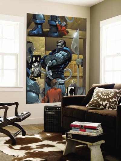 X-Men No.182 Cover: Apocalypse and Gazer-Salvador Larroca-Wall Mural
