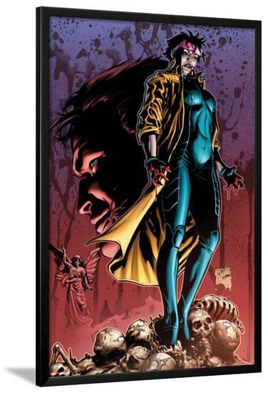 X-Men No.24 Cover: Jubilee Standing on Skeletons-Will Conrad-Lamina Framed Poster