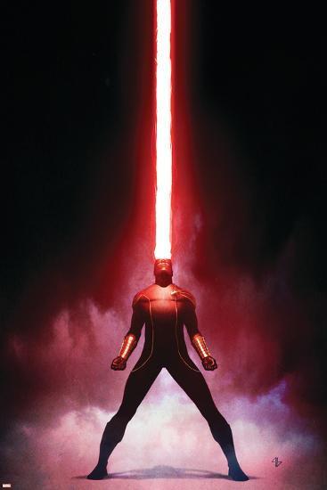 X-Men Origins: Cyclops No.1 Cover: Cyclops-Adi Granov-Art Print