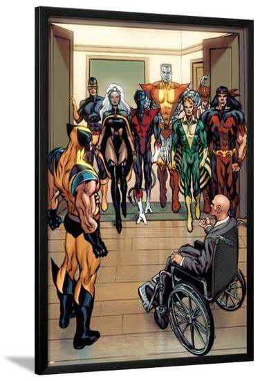 X-Men Origins: Wolverine No.1 Group: Storm-Mark Texeira-Lamina Framed Poster