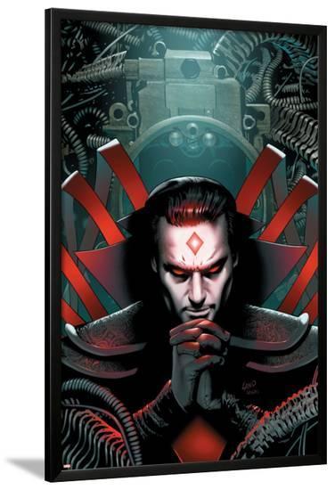 X-Men: The End No.4 Cover: Mister Sinister--Lamina Framed Poster
