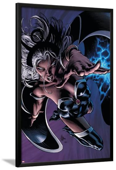 X-Men: Worlds Apart No.3 Cover: Storm-Mike Deodato-Lamina Framed Poster