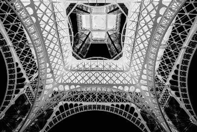 X-ray - Beneath the Eiffel Tower-John Harper-Giclee Print