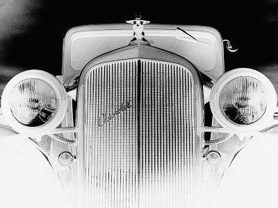 X-ray - Chevrolet Coupe, 1933-Hakan Strand-Art Print