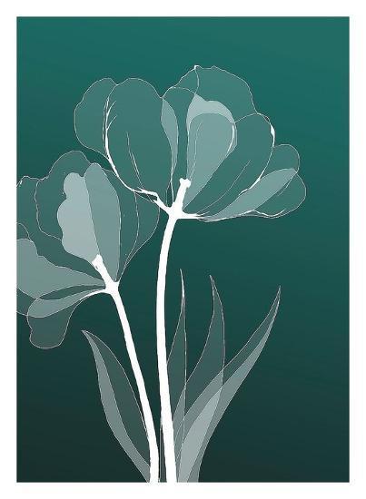 X-ray Flowers-GraphINC-Art Print
