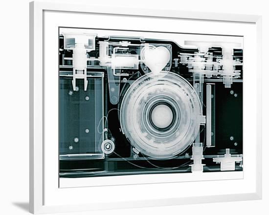 X-ray of Camera-Simon Marcus-Framed Photographic Print