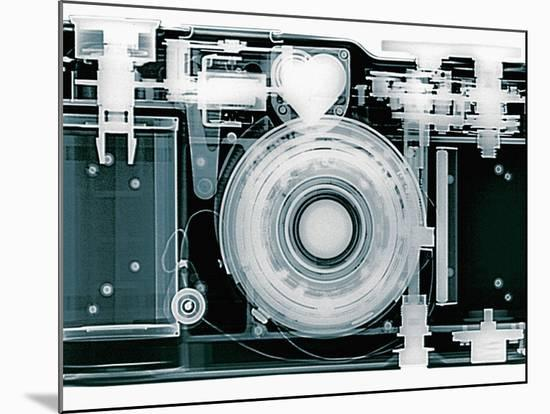 X-ray of Camera-Simon Marcus-Mounted Photographic Print
