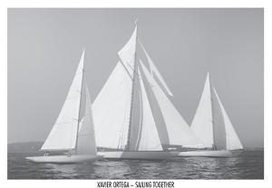 Sailing Together by Xavier Ortega