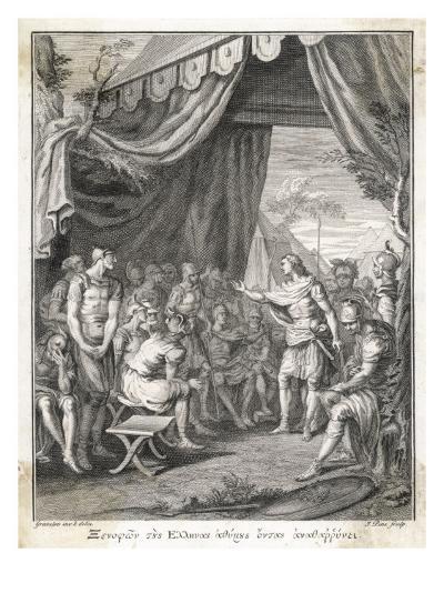 Xenophon Greek Writer, Horseman and General--Giclee Print