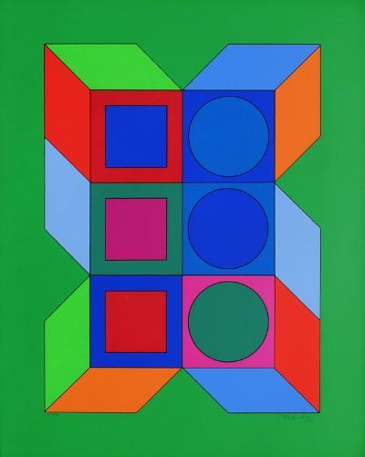 Xico IV-Victor Vasarely-Limited Edition