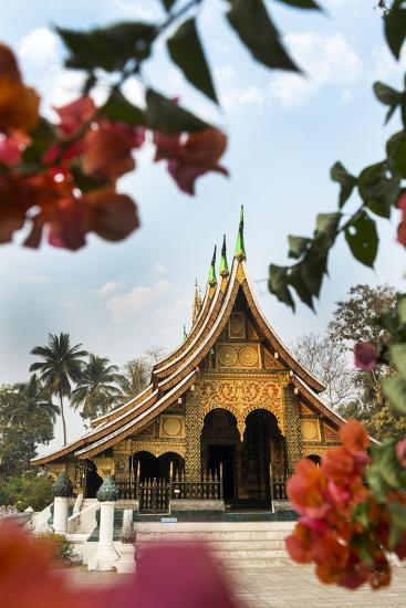 Xieng Thong Monastery, Luang Prabang, Laos, Indochina, Southeast Asia-Jordan Banks-Photographic Print
