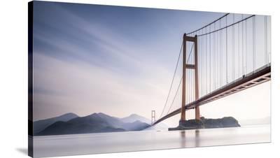 Xihou Bridge & Moon Bay-Qing Ai-Stretched Canvas Print