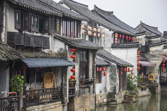 Xitang, Zhejiang Province, Nr Shanghai, China-Jon Arnold-Photographic Print