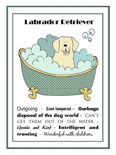 XL Labrador-Jennifer Zsolt-Giclee Print