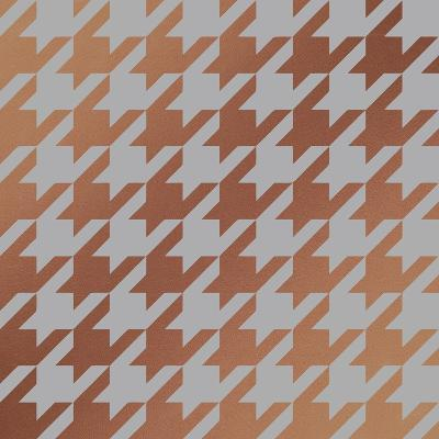 Xmas Houndstooth 4-Color Bakery-Giclee Print
