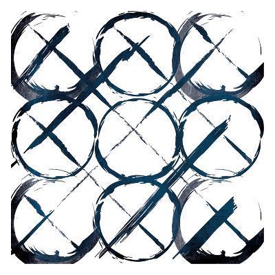 XOXO Blue-OnRei-Art Print