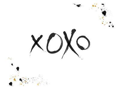 Xoxo-Khristian Howell-Art Print