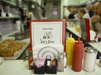 Customers Sit at the Counter at This Traditional American Diner by xPacifica