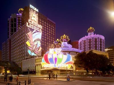 Famous Casino Lisboa, Built in the 1960S