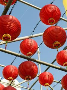 Paper Lanterns Put on Display During the Annual Lantern Festival by xPacifica