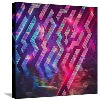 Xrystyl Nyytx-Spires-Stretched Canvas Print