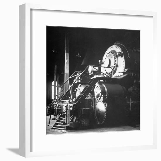 Y-6 Compound Mallet Freight Steam Locomotive Belonging to the Norfolk and Western Railway-Walker Evans-Framed Photographic Print