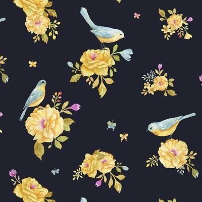 Yellow Rose Pattern