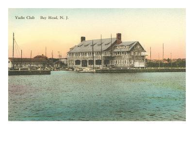 Yacht Club, Bay Head, New Jersey--Art Print