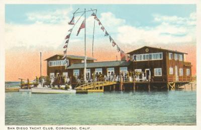 Yacht Club, Coronado, San Diego, California