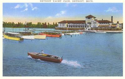 Yacht Club, Detroit, Michigan