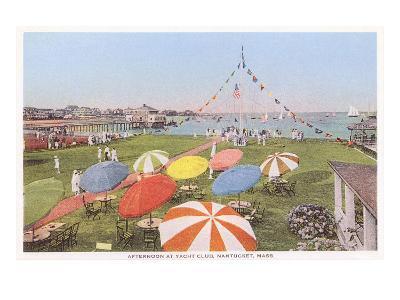 Yacht Club, Nantucket, Massachusetts--Art Print