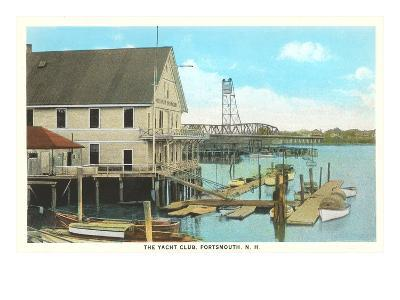 Yacht Club, Portsmouth, New Hampshire--Art Print
