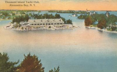 Yacht Club, Thousand Islands, New York