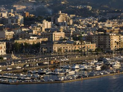 Yacht Marina, Port of Messina, Sicily, Italy, Mediterranean, Europe-Richard Cummins-Photographic Print